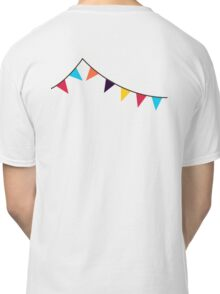 Bunting, Flags, Party, Celebration Classic T-Shirt