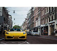 Ferrari F430 Spider Photographic Print