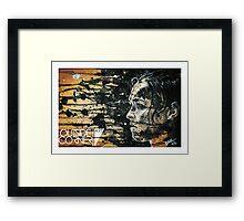 """""""Ronda Rousey"""" Framed Print"""