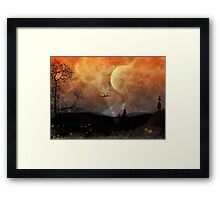 The UFO Framed Print