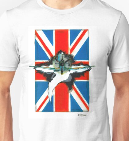 Spitfire illustration Unisex T-Shirt