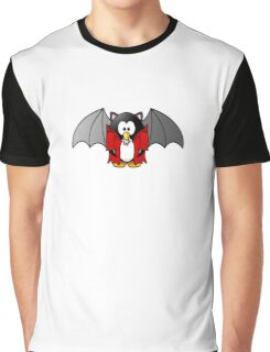 Count Pengula, Vampire, Penguin Graphic T-Shirt