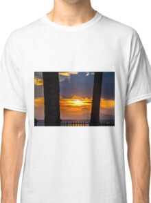 Tropical sunset, Indonesia Classic T-Shirt