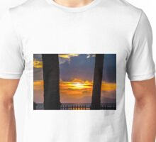 Tropical sunset, Indonesia Unisex T-Shirt