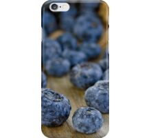 Blueberry Macro iPhone Case/Skin