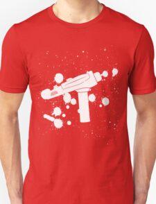 Phaser Paint Splatter (Black and White) T-Shirt