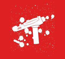 Phaser Paint Splatter (Black and White) Unisex T-Shirt