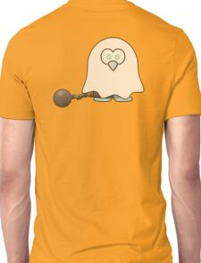 Ghost, Penguin, Cute, Cartoon, Spook, Halloween Unisex T-Shirt