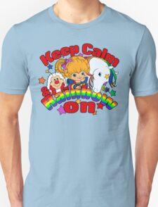 Keep Calm & Rainbow On (Light) Unisex T-Shirt