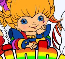 Keep Calm & Rainbow On (Light) Sticker