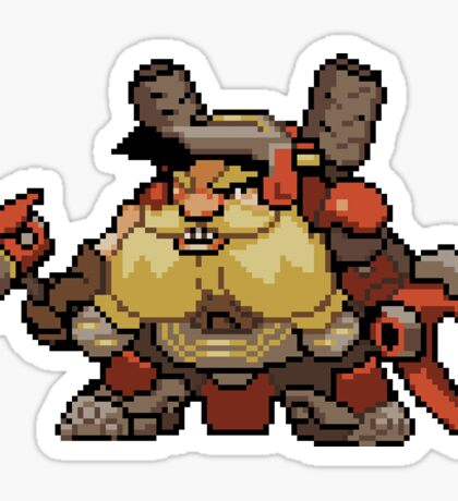 Torbjörn Pixel Spray Sticker