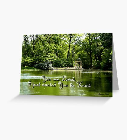 The Temple of Love at Longwood Gardens Greeting Card
