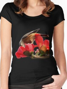 Sparrow Lily Women's Fitted Scoop T-Shirt