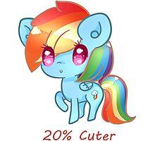 20% Cuter Photographic Print