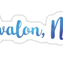 Avalon, NJ Sticker