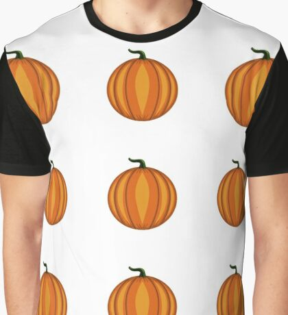 pattern with pumpkins Graphic T-Shirt