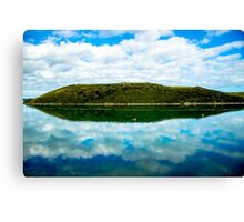 Cant Hill reflection Canvas Print