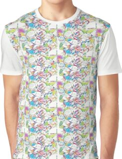 Floral Bouquet Graphic T-Shirt