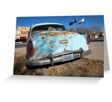Classic Dreams in Blue. Greeting Card