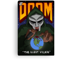 The Illest Villain Canvas Print