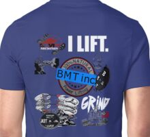 CHAOS.. BIG MUTHER TRUCKER POWERLIFTING STYLE Unisex T-Shirt