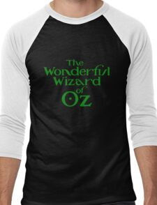 The Wonderful Wizard of Oz Men's Baseball ¾ T-Shirt