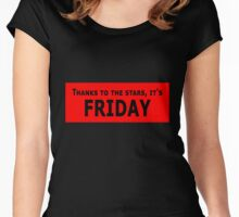 it's Friday Women's Fitted Scoop T-Shirt