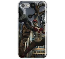 Steampunk Ursula iPhone Case/Skin