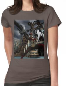 Steampunk Ursula Womens Fitted T-Shirt