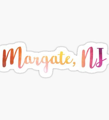 Margate, NJ Sticker