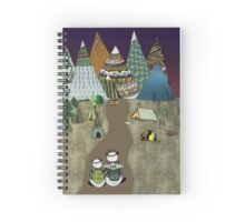 Camping is the answer Spiral Notebook