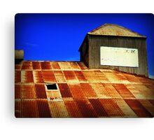 Rusty roof Canvas Print