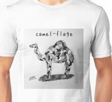 "PUN COMIC - ""CAMEL-FLAGE"" Unisex T-Shirt"