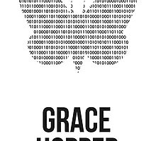Grace Hopper (Dark Lettering) - T-Shirts / Hoodies by Hydrogene