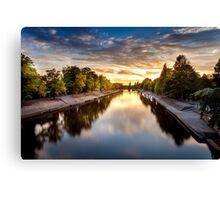 Lendal Bridge Sunset  Canvas Print