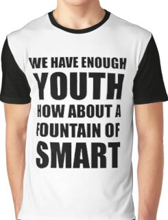 Fountain Of Smart Graphic T-Shirt