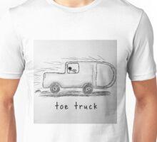 """PUN COMIC - """"TOE TRUCK"""" Unisex T-Shirt"""