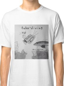 "PUN COMIC - ""TUBA DIVING"" Classic T-Shirt"