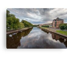 River Ouse From Skeldergate Bridge Canvas Print
