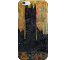 Sunset Over Parliament iPhone Case/Skin