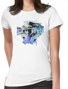 UNDER WATER Womens Fitted T-Shirt