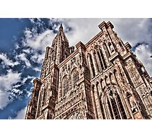 cathedrale strasbourg Photographic Print