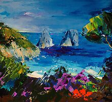 Capri Colors by Elise Palmigiani