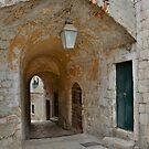 Street in Dubrovnik Old Town  by jojobob