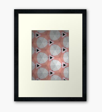 Marsh'mellow' Framed Print