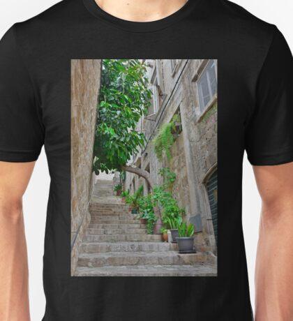 Street in Dubrovnik Old Town Unisex T-Shirt