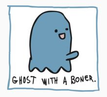 Ghost With A Boner One Piece - Short Sleeve