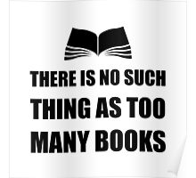 Too Many Books Poster