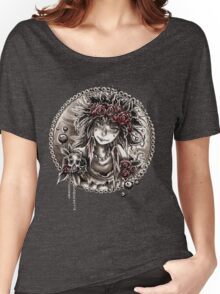 Santa Muerte Women's Relaxed Fit T-Shirt