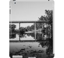 Elcombe Bridge Reflection B&W iPad Case/Skin